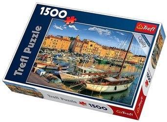 Фото Пазл Старый порт Сен-Тропе, 1500 элементов (26130)