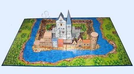 Конструктор деревянный Городок (Серия Живые кубики) фотография 3