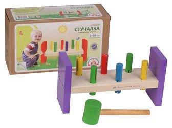 Развивающая деревянная игра Стучалки (Н01) фотография 2