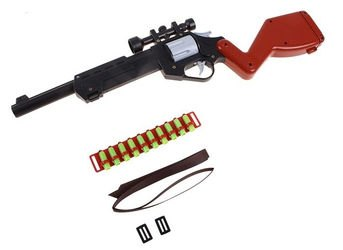 Фото Детская игрушечная винтовка с оптическим прицелом (С-110-Ф)