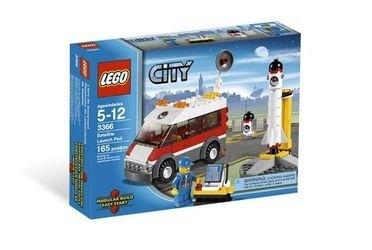 3366 Пусковая установка (конструктор Lego City) фотография 2