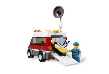 3366 Пусковая установка (конструктор Lego City) фотография 3