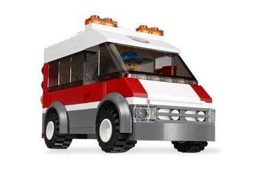 3366 Пусковая установка (конструктор Lego City) фотография 4