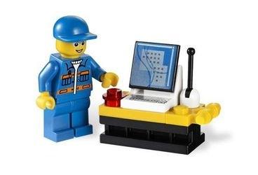 3366 Пусковая установка (конструктор Lego City) фотография 5