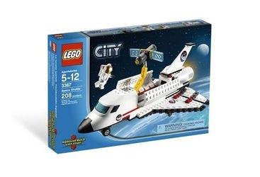 3367 Космический корабль Шаттл (конструктор Lego City) фотография 2