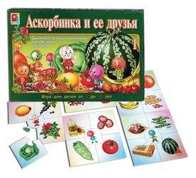 Фото Настольная игра Аскорбинка и ее друзья-1 (С-481)