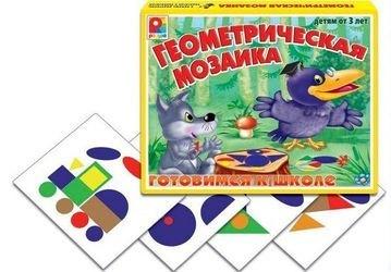 Фото Настольная игра Геометрическая мозаика (С-200)