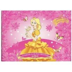 """Фото Альбом для рисования 40 листов """"Принцесса"""" (25302/25303/25304)"""