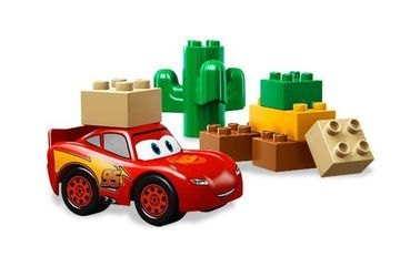 5813 Тачки МакКуин Молния (конструктор Lego Duplo) фотография 3