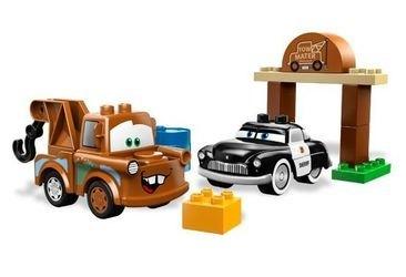 5814 Тачки Автомобильная свалка Мэтра (конструктор Lego Duplo) фотография 1