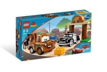 5814 Тачки Автомобильная свалка Мэтра (конструктор Lego Duplo) фотография 2