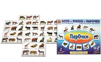 Фото Настольная обучающая игра Парочки №2 (С-158)