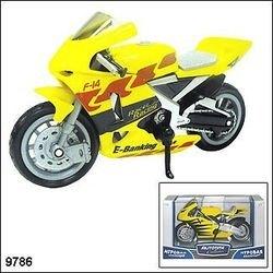 "Фото Масштабная модель  Мотоцикл ""SILVERSTONE SUPERBIKE""1:18 (10642-08/9786)"