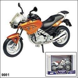 "Фото Масштабная модель  Мотоцикл ""BMW F650CS""1:18 (9981)"