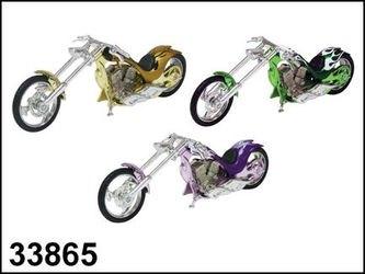 """Фото Масштабная модель  Мотоцикл """"CHOPPER CUSTOM"""" в ассортименте 1:18 (76278/02)"""