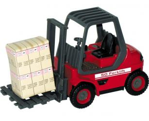 """Фото Масштабная модель  Погрузчик """"Forklift optima"""" 1:24 (10562/1509)"""