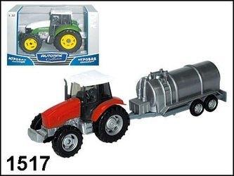 """Фото Масштабная модель  Трактор """"Village set"""" в ассортименте 1:32 (1517/10762)"""