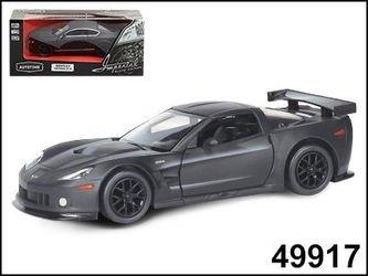 """Фото Масштабная модель Машина """"CHEVROLET CORVETTE C6-R"""" Imperial Black Edition 5""""1:32 (49917)"""