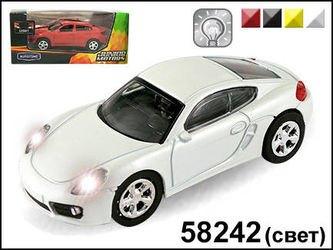 "Фото Масштабная модель Машина ""GERMANY SPORT COUPE"" со светом фар1:43 (58242)"
