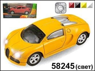 "Фото Масштабная модель Машина ""FRANCE SPORT LEGEND"" со светом фар1:43(58245)"