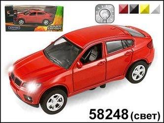 "Фото Масштабная модель Машина ""BAVARIA OFFROADER"" со светом фар1:43(58248)"