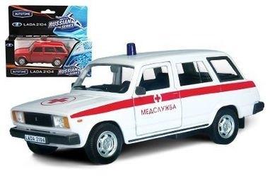 Фото Масштабная модель ВАЗ 2104 Медслужба (32676)