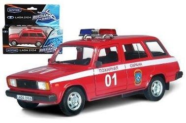 Фото Масштабная модель ВАЗ 2104 Пожарная охрана (32677)