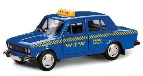 Фото Масштабная модель ВАЗ 2106 такси 1:36 (11469)