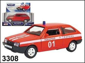 Фото Масштабная модель ВАЗ 2108 Пожарная (3308)