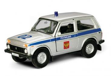 Фото Масштабная модель Нива Полиция (37026/6177)