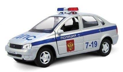 Фото Масштабная модель Лада Калина Полиция (11496)