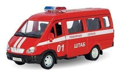 Фото Масштабная модель Газель Пожарная (2917)