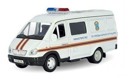 Фото Масштабная модель Газель Служба спасения МЧС (2920)
