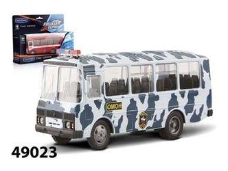 Фото Масштабная модель автобус ПАЗ 32053 Омон 1:43 (49023)