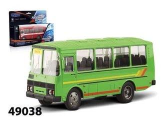 Фото Масштабная модель автобус ПАЗ 32053 Вахтовый 1:43 (49038)