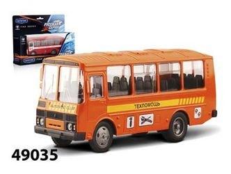 Фото Масштабная модель автобус ПАЗ 32053 Техпомощь 1:43 (49035)