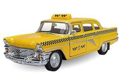 Фото Масштабная модель Чайка Такси 1:43 (11478)