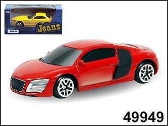"Фото Масштабная модель Машина ""AUDI R8 V10 Jeans 3""1:64(49949)"