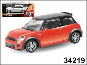 "Фото Масштабная модель Машина ""MINI COOPER S JCW"" в ассортименте1:64 (34219)"