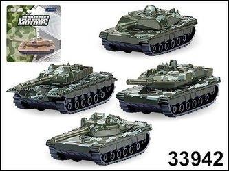 """Фото Масштабная модель Танк """"BATTLE DEFENDER"""" 1:50 боевой камуфляж, в ассортименте (33942)"""