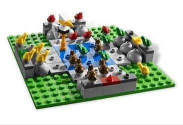 3854 Лягушачья гонка (настольная игра Lego) фотография 3