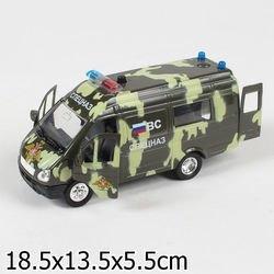 Фото Масштабная модель Газель Спецназ (СТ-1276-21)