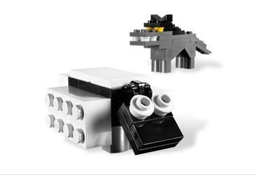 3845 Постриги овцу (настольная игра Lego) фотография 3