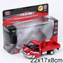 Фото Масштабная модель Газель 3302 Пожарная охрана (15-R)
