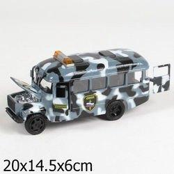 Фото Масштабная модель КАВЗ 3976-автобус Омонсо звуком и светом (СТ10-069-26)