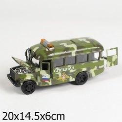 """Фото Масштабная модель """"КАВЗ 3976-автобус"""" Спецназсо звуком и светом (СТ10-069-27)"""