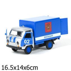 Фото Масштабная модель УАЗ 3303 Милиция (СТ10-107-9)