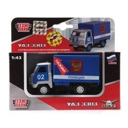 Фото Масштабная модель УАЗ 3303 Полициясо звуком и светом (CT10-107-9)