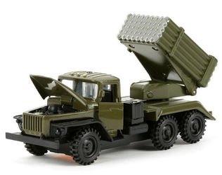Фото Масштабная модель Урал Град Военный (СТ-1054М)
