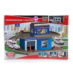 Фото Игрушка Гараж-паркинг Полицейский участок с машинкой (2201A-R)